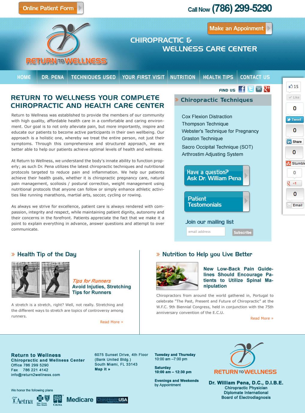 Chiropractor-Web-Site-Design-Miami