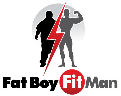 FatBoyFitMan-Ftiness logo Design