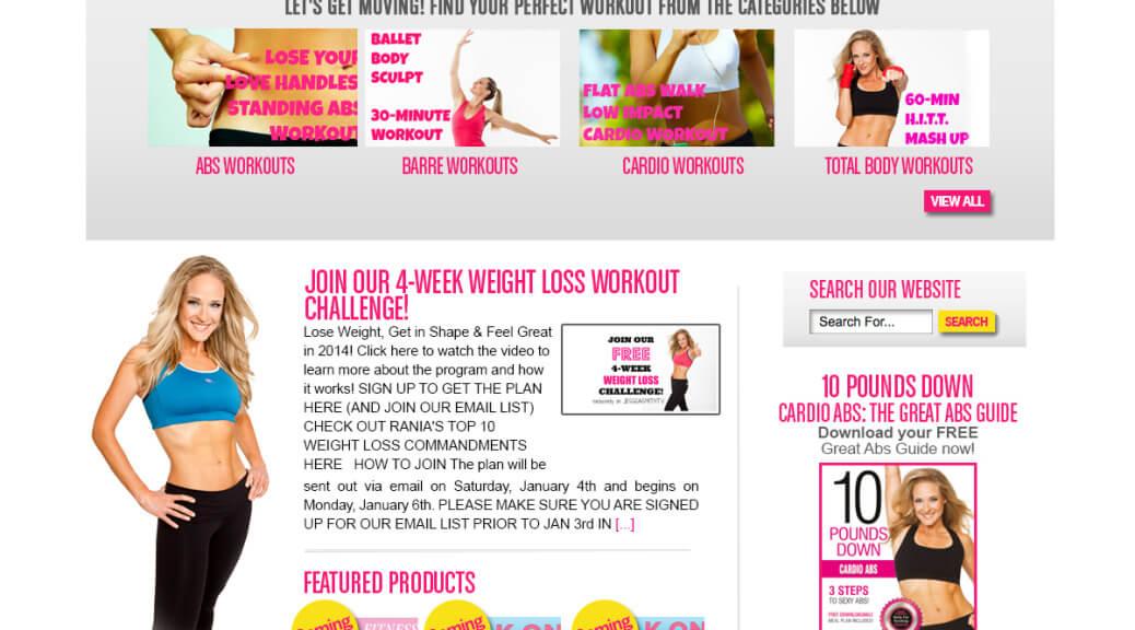 Fitness Web Design WordPress Web Site MindBody Heal Code Gym Web Site Fitness Trainer Web Site Design