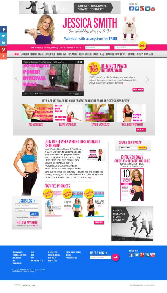 Fitness-Web-Design-WordPress-Miami-585x1024