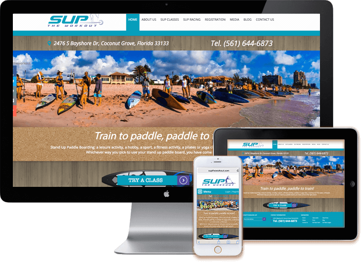 Fitness-WordPress-web-site