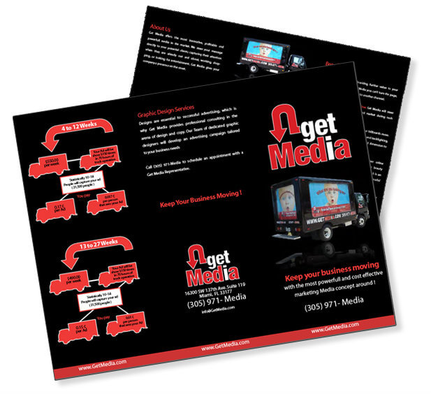 Tri-Fold Brochure Design Custom Brochure Design Graphic Design Miami Bi-Fold Brochure Design