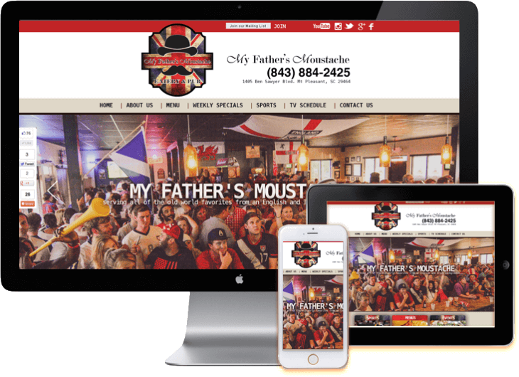 Restaurant Web Site design WordPress web sites