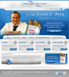 Physician Web Site Design Miami Healthcare WordPress