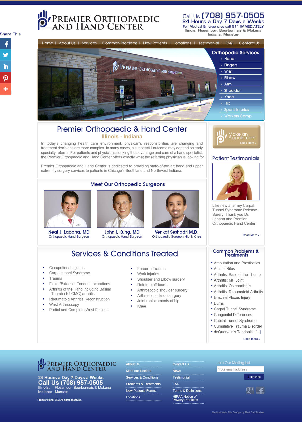 Medical-web-design-WordPress-website