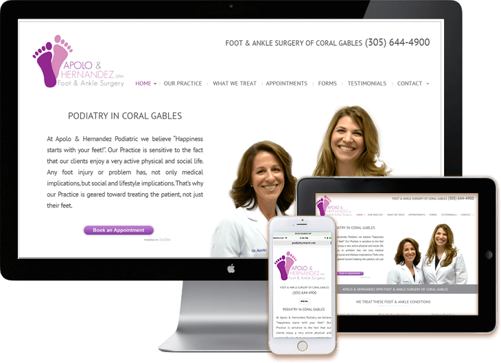 Miami Medical WordPress Web Sites