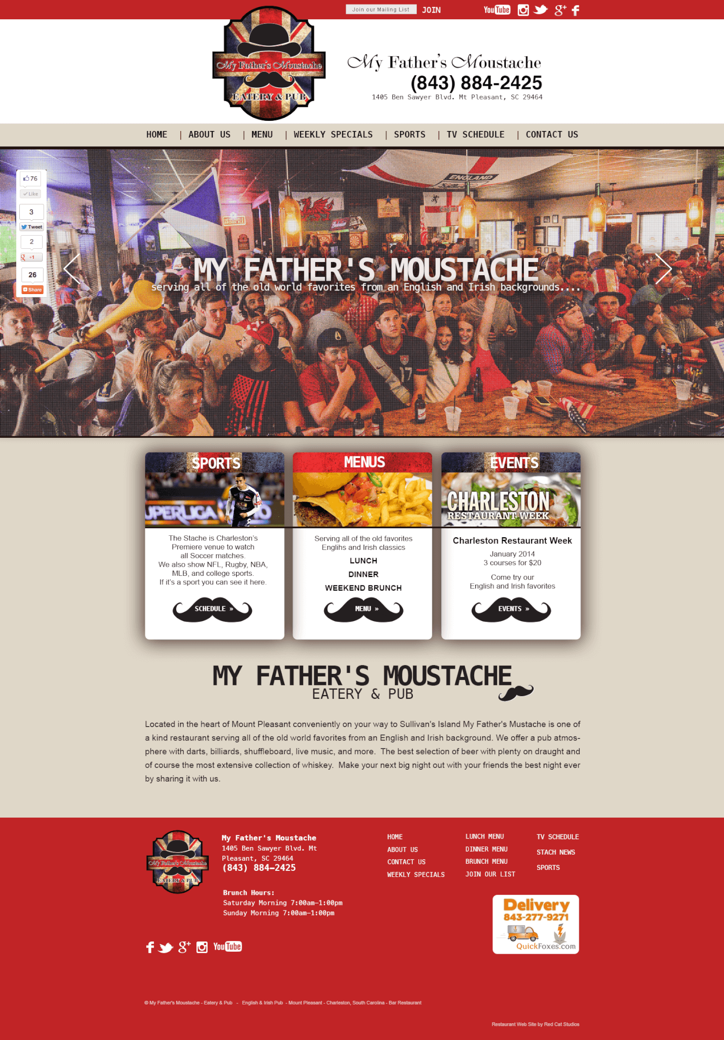 Restaurant Web Design Miami WordPress