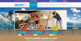 WordPress Fitness Web Site Design Miami Supthworkout