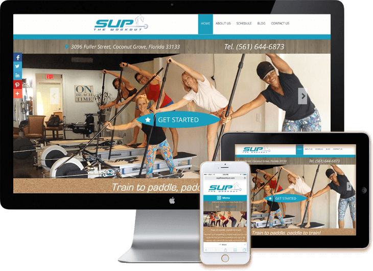 Responsive Design Web Sites Miami WordPress