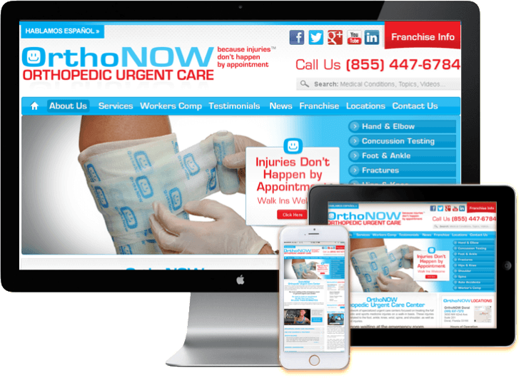 WordPress Medical Web Design Miami Responsive Web Design