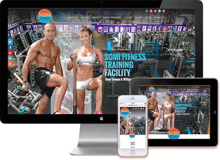 WordPress Fitness Web Sites Miami