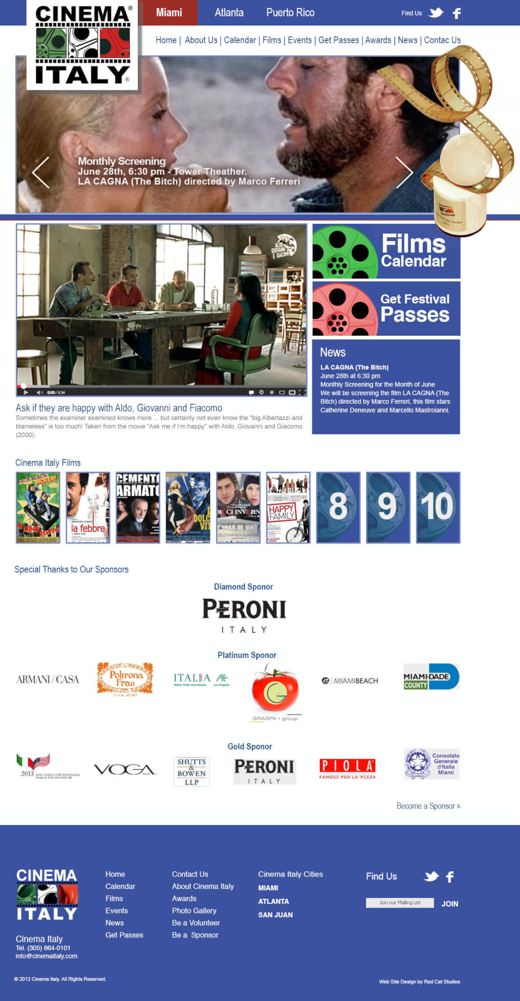 WordPress-Networks-web-site-Miami