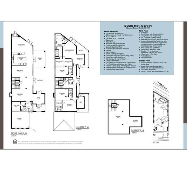real estate brochure design Construction Company