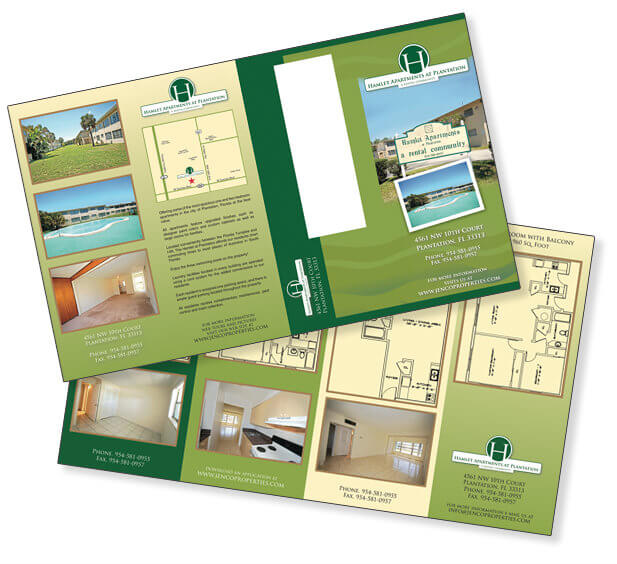 Z-Fold Brochure Design Trifold Brochure Design Bi-fold Brochure Custom Design Miami Graphic Design