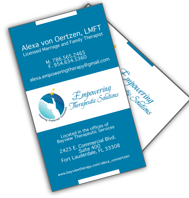 therapists-medical-business-card-design