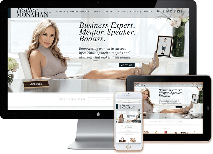 WordPress Blog Heather Monahan #bossinheels
