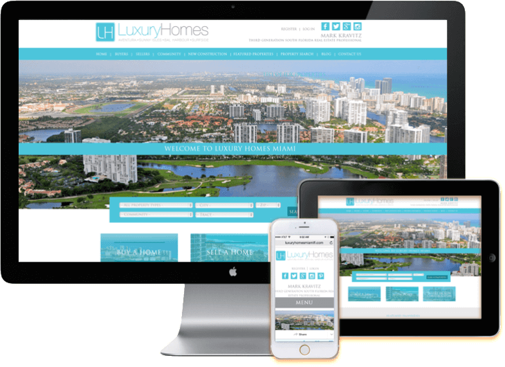 IDX WordPress Web Sites Miami Responsive Design Red Cat Studios Miami