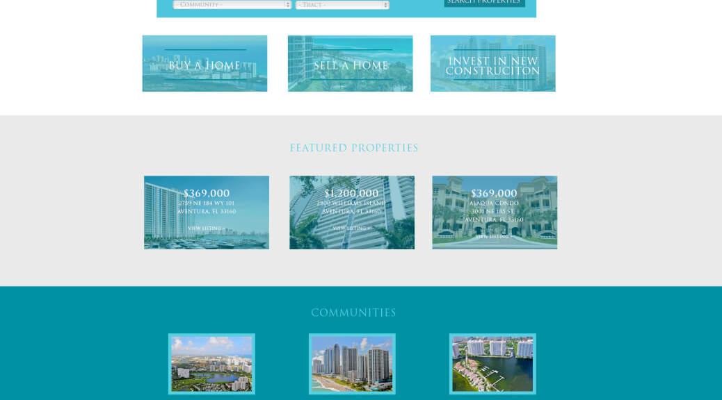 Real Estate WordPress web sites Miami Red Cat Studios
