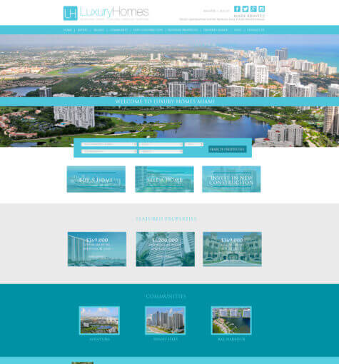 Luxury Homes Miami