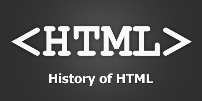 History of HTML Who Invented HTML