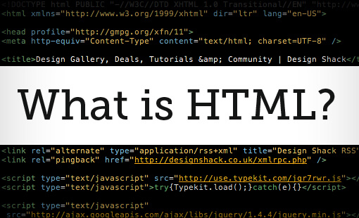 The History of HTML What is HTML?