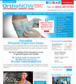 Medical WordPress web site HealthCare web Design