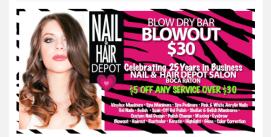Nail & Hair Depot Newsletter