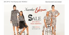 Xander Ephraim Newsletter