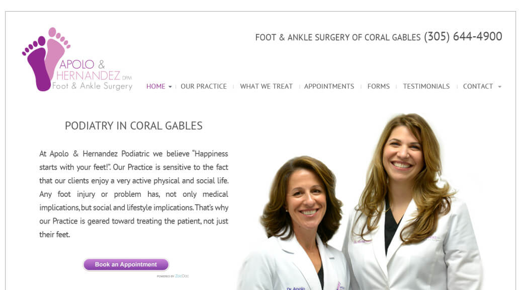 Medical Web Site WordPress Themes Miami