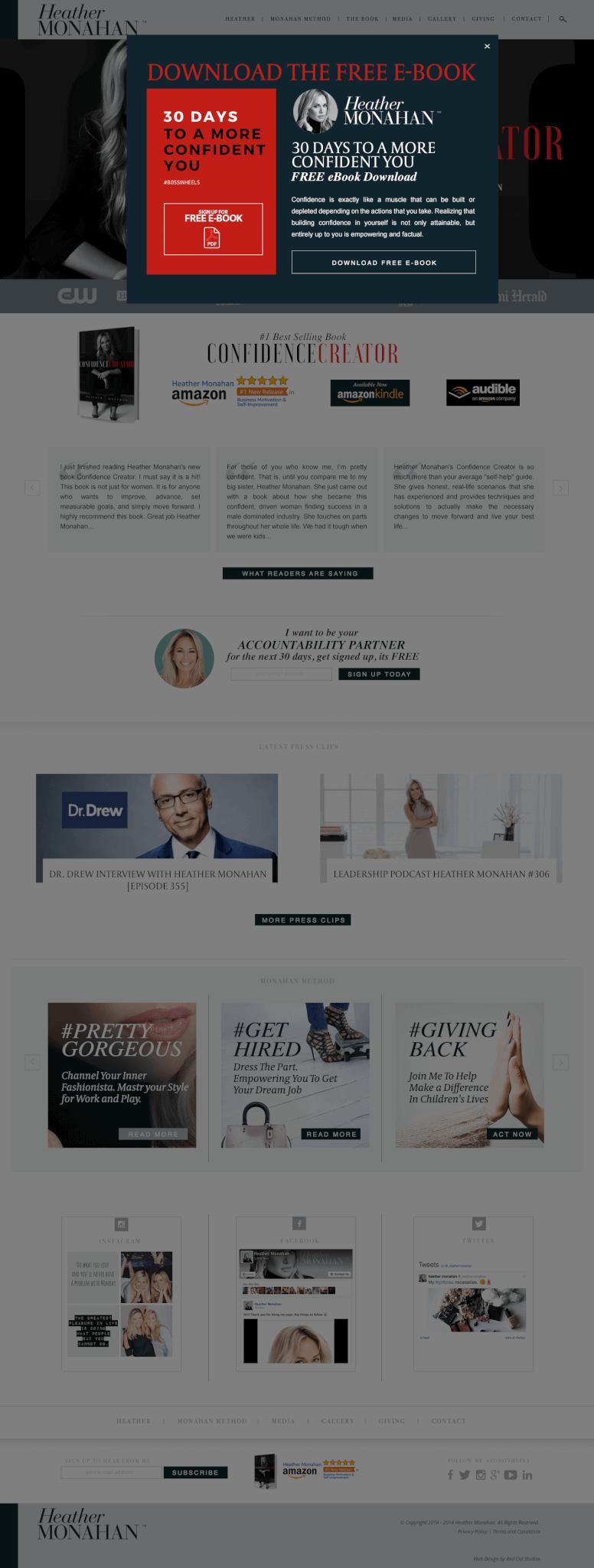 WordPress Promotional Web Design
