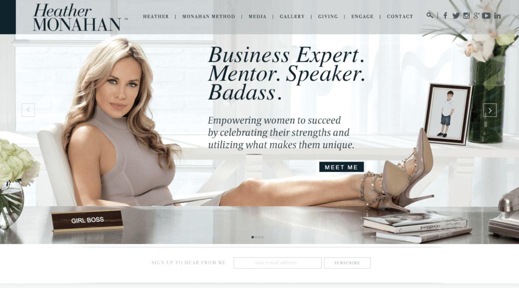 Heather Monahan Boss in Heels #bossinheels