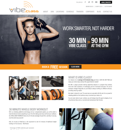 VibeClass Gym