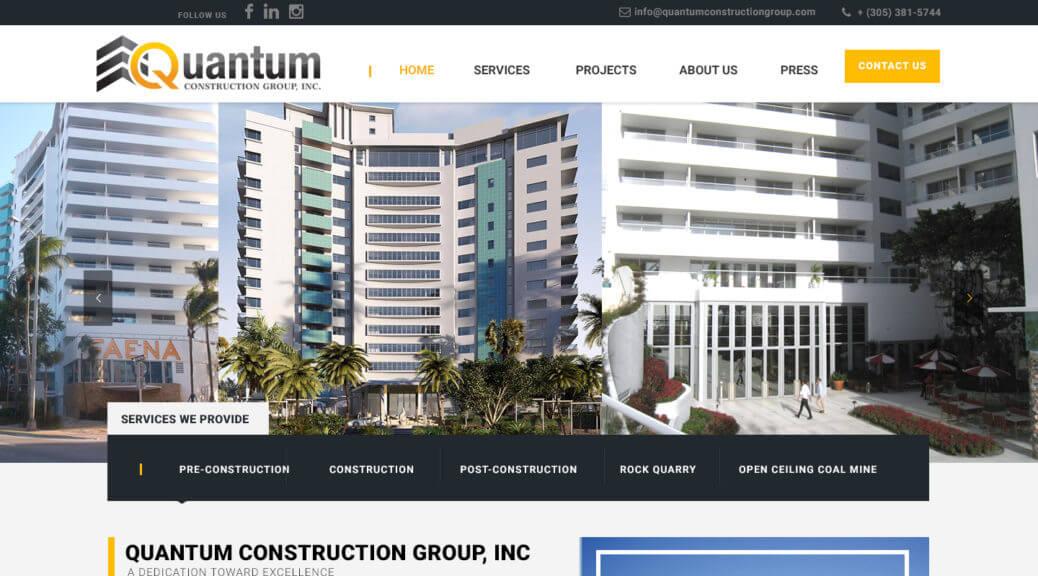 WordPress web site design Miami