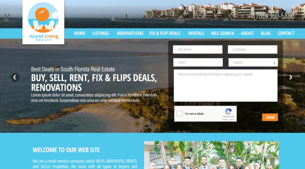 IDX Broker real estate web sites developer Miami