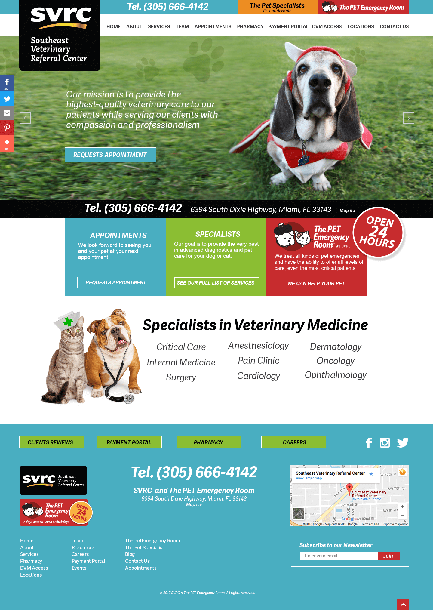 Veterinarian WordPress web stie