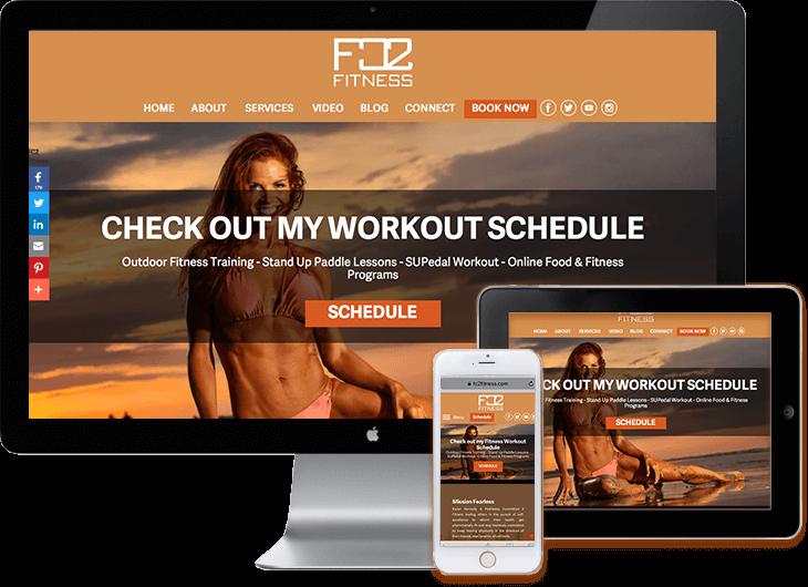WordPress-fitness-web-sites
