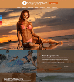 Fitness Site WordPress Developer