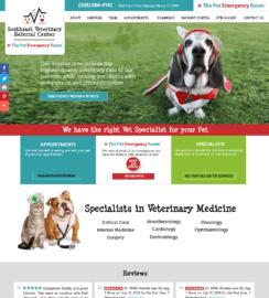 Veterinarian WordPress web design