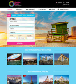WordPress Travel Booking Engine