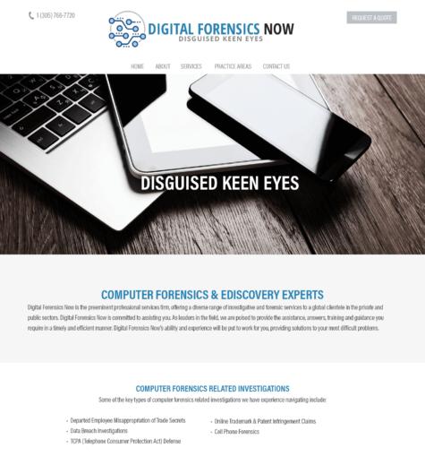 Digital Forensics Now