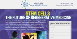 Stem Cells – Regenerative Medical Landing Page